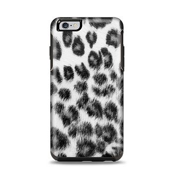 The Real Snow Leopard Hide Apple iPhone 6 Plus Otterbox Symmetry Case Skin Set