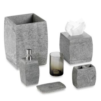 Kenneth Cole Reaction® Home Slate Boutique Tissue Cover