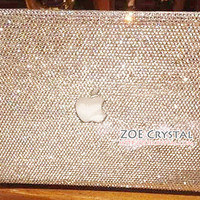 Bling and Stylish MACBOOK Pro / Air / Retina  White Crystal CASE / COVER