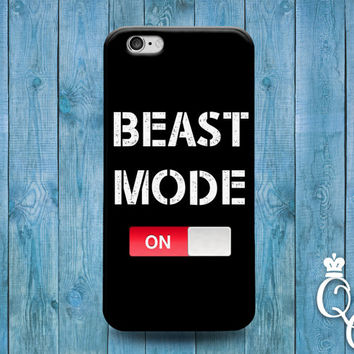 iPhone 4 4s 5 5s 5c 6 6s plus iPod Touch 4th 5th 6th Generation Cool Beast Mode Gym Trainer Train Training Lift Funny Phone Cover Cute Case