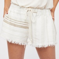 Free People Bondi Beach Stripe Shorts