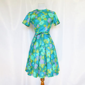 Vintage 60s Dress Palm Fashions XS