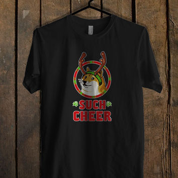 Christmas Doge T Shirt  Mens T shirt and Womens T shirt *