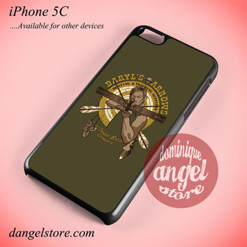 Daryl Dixon Pin Art Phone case for iPhone 5C and another iPhone devices