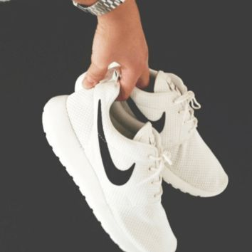 """NIKE"" Trending Fashion Casual Sports Shoes White"