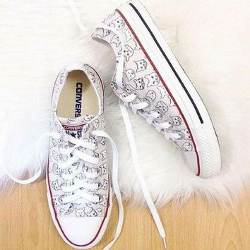 ESBONB The Cat's Meow Converse Low Top
