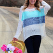 Bliss + Blues Sweater {Navy Mix}