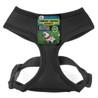 Four Paws Comfort Control Dog Harness Sz: X-Small Black