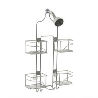 Zenith, Expandable Shower Caddy for Hand Held Shower or Tall Bottles in Chrome, 7446SS at The Home Depot - Mobile