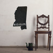 Mississippi Chalkboard State wall decal