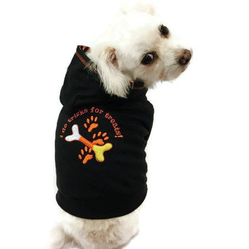 Halloween Embroidered Dog Hoodie Candy Corn dog costume pet clothing dog clothing pet clothes dog shirt dog sweater