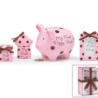 Newborn Baby Keepsake Gift Set - Girl