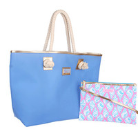 Lilly Pulitzer Shoreline Tote Tide Blue - Zappos.com Free Shipping BOTH Ways