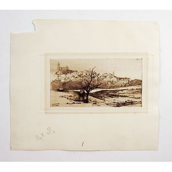 Marblehead Etching