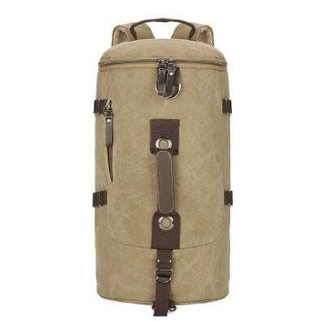 Men's  Vintage Canvas Backpack with variable colors