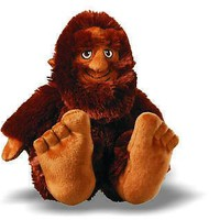 "Bigfoot Sasquatch 10"" Plush Stuffed Toy"
