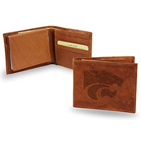 Kansas State Wildcats NCAA Manmade Leather Billfold