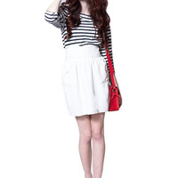 Liberate Ivory Pocket Skirt