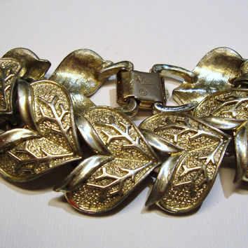 Coro Bracelet Vintage Jewelry  Pegasus Signed   by DLSpecialties
