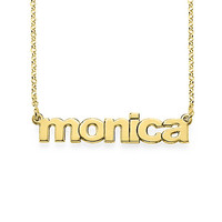 Lower Case Name Necklace