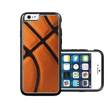 RCGrafix Brand Basketball iPhone 6 Case - Fits NEW Apple iPhone 6