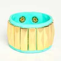 Textured Leatherette Bracelet