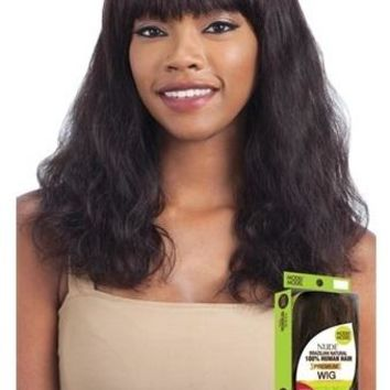100% BRAZILIAN HUMAN HAIR WIG S-WAVE (M)