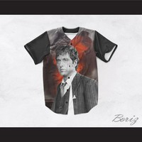 Tony Montana Scarface 45 Smoke Baseball Jersey