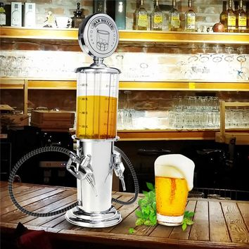 Single Double Gun Bar Butler Liquor Beer Wine Soda Soft Drink Beverage Pump Gas Station Dispenser Machine Bar Tool