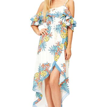 Tropicana Off Shoulder Dress