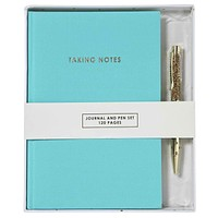 Taking Notes Journal and Pen Set