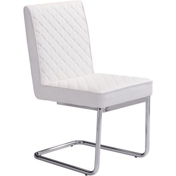 Zuo Modern Quilt 100187 Armless Dining Chair
