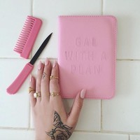 Pink Comb Knife