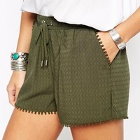 New Look Crochet Runner Short