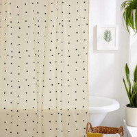 Scattered Triangle Shower Curtain | Urban Outfitters