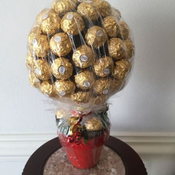 Ferrero Rocher Mini Topiary