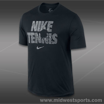 Nike Mens Tennis T-Shirt, Nike Tennis Legend T-Shirt 547593-010, Midwest Sports