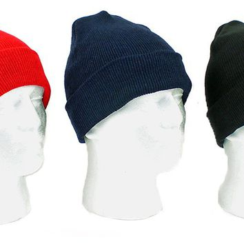 Adult Knit Winter Hats - CASE OF 24