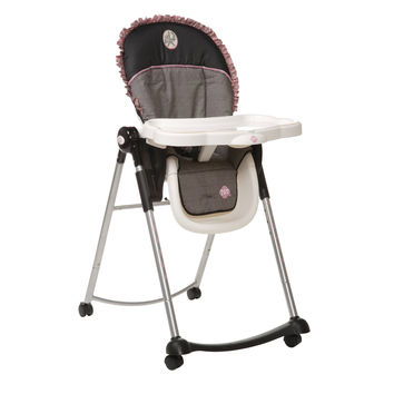 Safety 1st Adaptable High Chair w/Ruffle (Eiffel Rose) HC118ALL