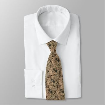 Abstract Neutral Colors 2 Tie