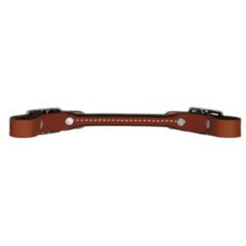 Weaver Bridle Leather Rounded Brown Curb Strap