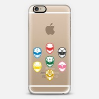 Original Mighty Morphin Power Rangers iPhone 6 case by Febrian Anugrah | Casetify