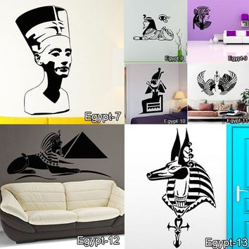 Egyptian Style Decal Wall Art Sticker