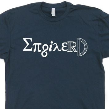 Enginerd T Shirt Engineer T Shirt Funny Math Geek T Shirt