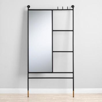 Leaning Ladder Mirror