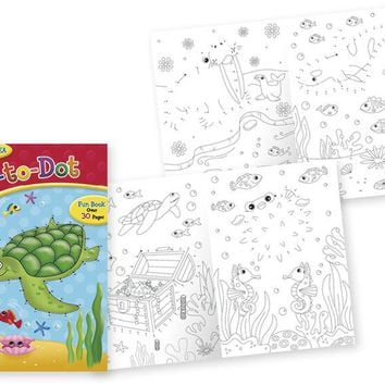 Papercraft Activity Book - Dot To Dot Series - CASE OF 24