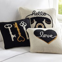 Glam Needlepoint Pillows