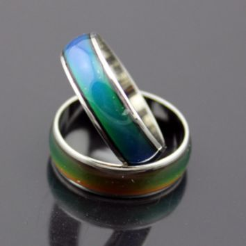 Rounded Classic Color Changing Mood Ring