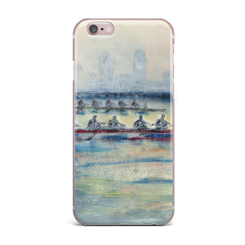 "Josh Serafin ""Crew"" Rowing iPhone Case"