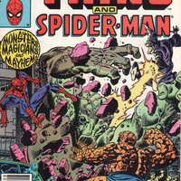Vintage Marvel Two-In-One The Thing and Spider-Man #90, Marvel Comics, Antique Alchemy